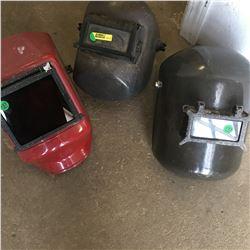 3 Welding Helmets