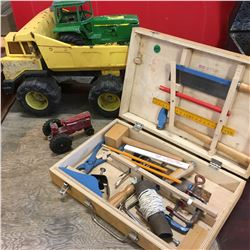 Toys: Truck, Tractor & Carpentry Kit