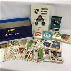 Hockey Group: Western Hockey League, Book, Autographs, Misc Cards, etc