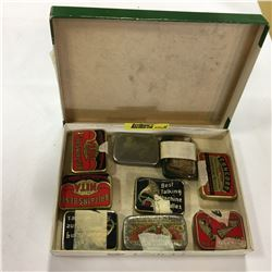 Collection of Gramophone Needles in Tins