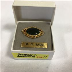 B.C. Jade Brooch