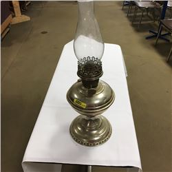 Coal Oil Lamp - Aladdin - Silver Base