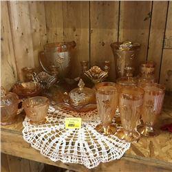 Iris & Herringbone Glassware Collection