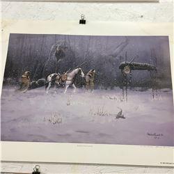 Picture/Artwork : Native Scene (Not Framed)