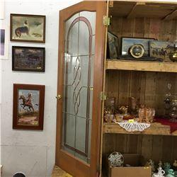 """Stain Glass Door 32""""x80"""""""