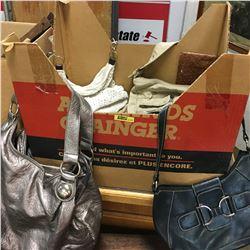 Box Lot: Assortment Shoes, Purses & Fanny Packs! (Tegan brought back the Fanny Pack!)