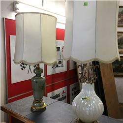 Table Top Lamps (2)