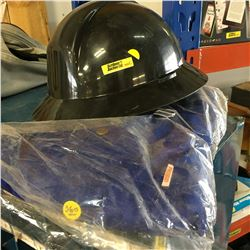 Hard Hat & Coveralls (Size 46)