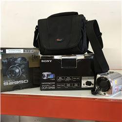 2 Video Cameras & Fuji Camera