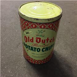 Old Dutch Potato Chip Tin