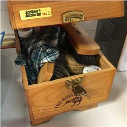 Royal Batman Kiwi Shoe Shine Kit