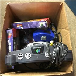 Nintendo 64 Console with Controllers & 2 Games (Tetris, Star Wars) & Expansion Pack