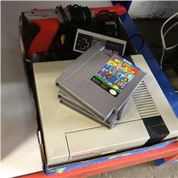 Nintendo Entertainment System w/Controllers, Zapper & 3 Games (Wall Street, Punch Out, Jack Nicklaus