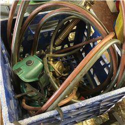 Oxygen Acetylene Torch & Regulators & Hose & Goggles