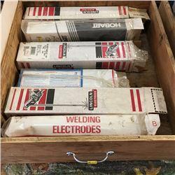 Box Lot: Variety Welding Rods