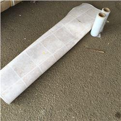 Linoleum & 2 Rolls Shrink Wrap