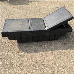 Plastic Truck Tool Box (Black)