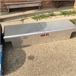 Delta Aluminum Checker Plate Truck Tool Box