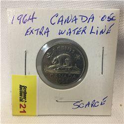 Canada Five Cent 1964 XWL