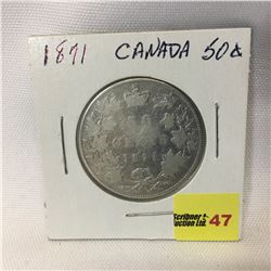 Canada Fifty Cent 1871