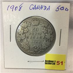Canada Fifty Cent 1908