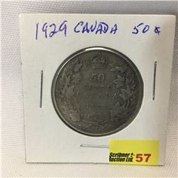 Canada Fifty Cent 1929