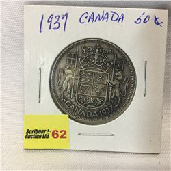 Canada Fifty Cent 1937