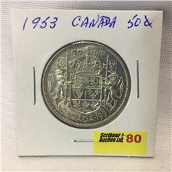 Canada Fifty Cent 1953