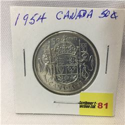 Canada Fifty Cent 1954