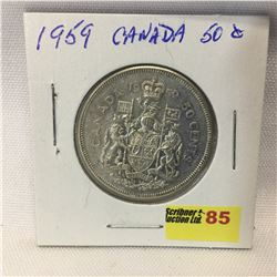 Canada Fifty Cent 1959
