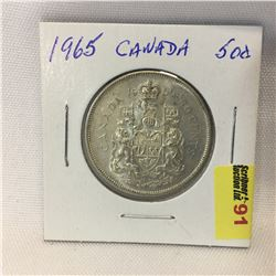 Canada Fifty Cent 1965