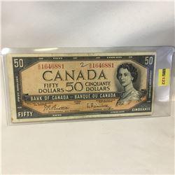 Canada $50 Bill 1954 : BH1646881