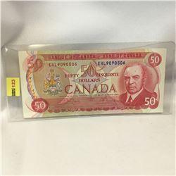 Canada $50 Bill 1975 : EHL9090506