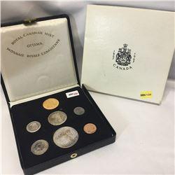 Canada Mint Set 1867-1967 (7 Coins): 1¢; 5¢; 10¢; 25¢; 50¢; $1; $20 Gold