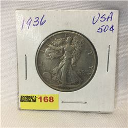USA Fifty Cent 1936
