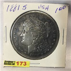 USA Morgan Dollar 1881S