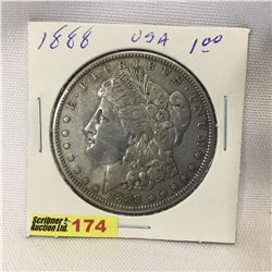 USA Morgan Dollar 1888