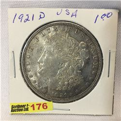USA Morgan Dollar 1921D