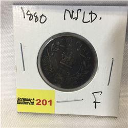 Newfoundland Large Cent 1880