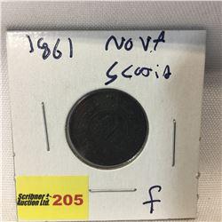 Nova Scotia Half Cent 1861