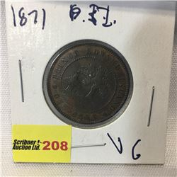 PEI One Cent 1871