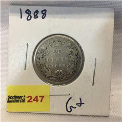 Canada Twenty Five Cent 1888