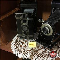 Bellows Cameras (2) Kodak