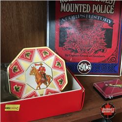 Mounted Police Collection (Tin, Pocket Knife & Book)