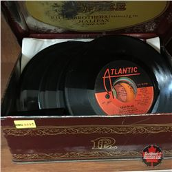 45 Record Collection in Riley's Toffee Tin