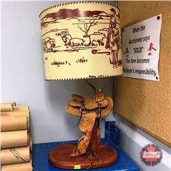 Western Lamp (Saddle)