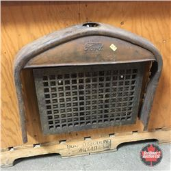 Model T Rad Cover & 2 Steel Floor Grates