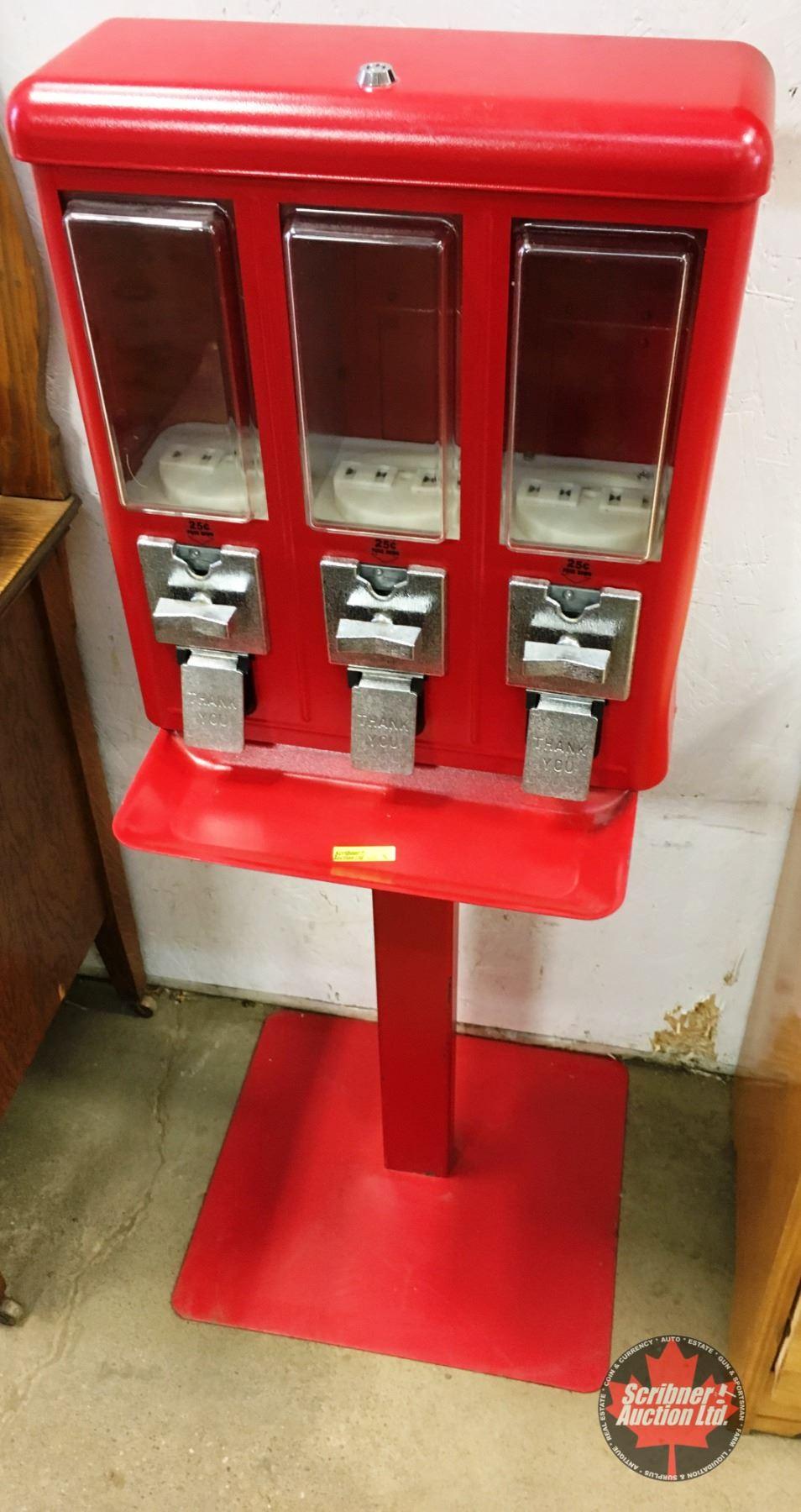 3 Slot Candy Machine