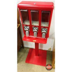 Candy Vending Machine (3 Dispensing Slots) (Missing Key)