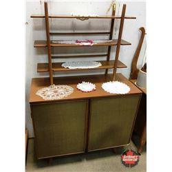Retro Bar / Buffet / Curio Cabinet